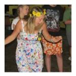 Camp Counsellor Enjoying a Camp Kennebec Dance